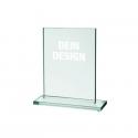 Glas-Pokal klein mit Lasergravur - 10 x 15 cm