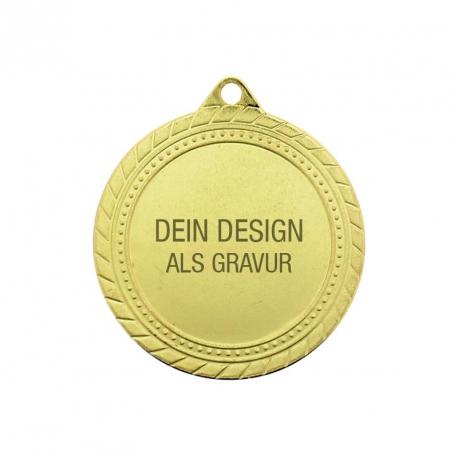Medaille Sieger - Gold
