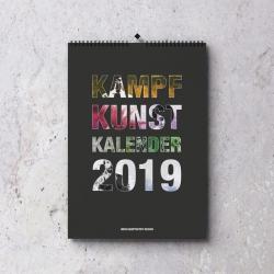 Kampfkunst Kalender 2019 - A3