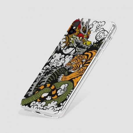 Handyhülle - Tiger & Dragon