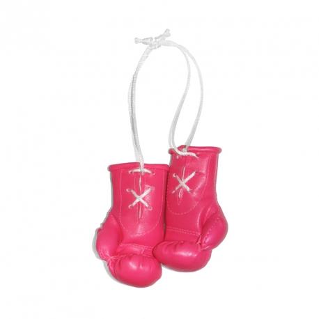 Mini Boxhandschuhe - individuell bedruckt - Pink - LIMIITERT