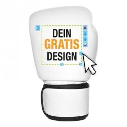 Gratis Design Entwurf für individuelle Boxhandschuhe