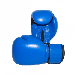 boxhandschuhe-unbedruckt-blau