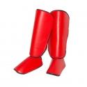 """Schienbeinschützer - unbedruckt - """"Painless RED"""""""