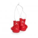 Mini Boxhandschuhe - unbedruckt - Rot