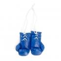 Mini Boxhandschuhe - unbedruckt - Blau