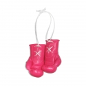 Mini Boxhandschuhe - unbedruckt - Pink - LIMITIERT
