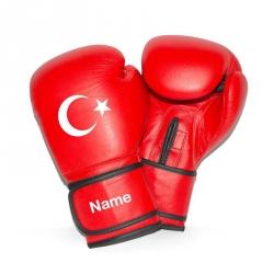 Boxhandschuhe - Türkiye + Dein Name