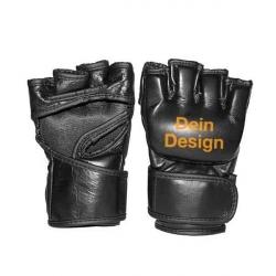 MMA Handschuhe schwarz Dein Design