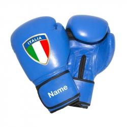 Boxhandschuhe - Italy + Dein Name
