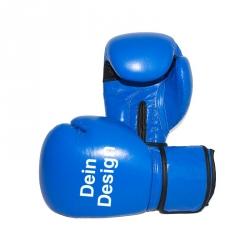 """Boxhandschuhe - individuell bedruckt - """"BLUE Burst"""""""