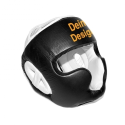 sparring-kopfschutz-individuell-bedruckt-weiss-schwarz