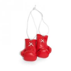Mini Boxhandschuhe - individuell bedruckt - Rot
