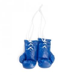 Mini Boxhandschuhe - individuell bedruckt - Blau