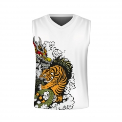 "Tank Top - Traningsshirt - ""Tiger & Dragon"""