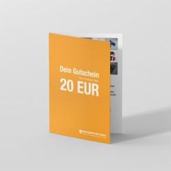 Wertgutschein 20 EUR