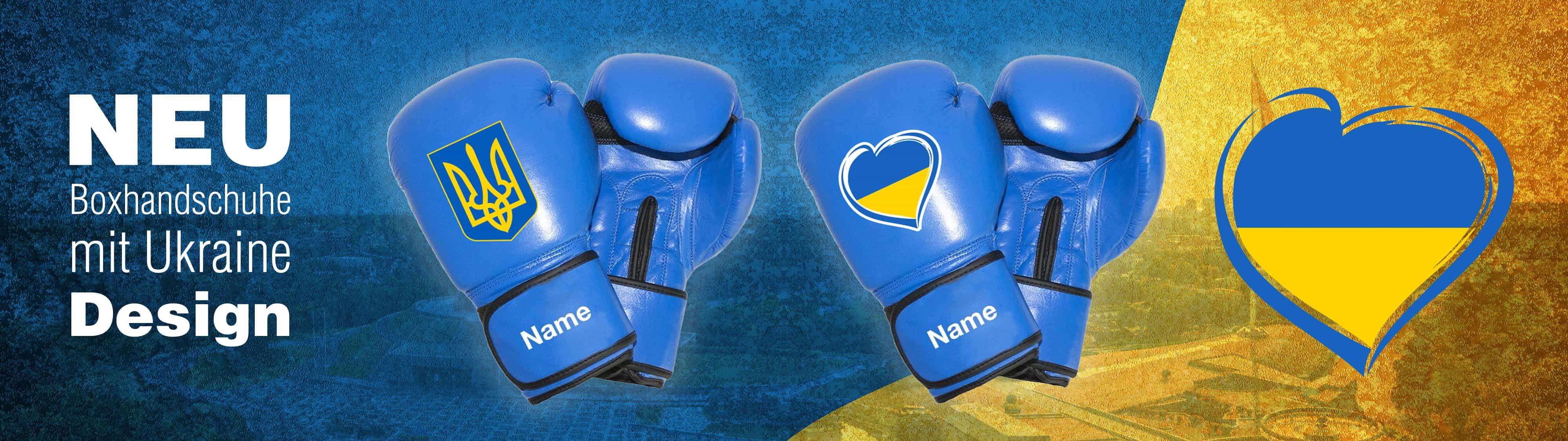 Boxhandschuhe personalisiert mit dem eigenem Namen selber